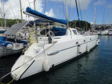 Fountaine Pajot Belize43 Maestro : In the marina